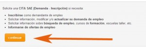 Tramitar Cita Previa Servicio Andaluz de Empleo Sae
